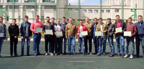 Чемпионат по мини-футболу среди студенческих отрядов